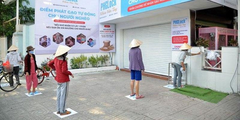 Reisautomat in China